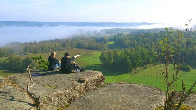 Utsikt från Klevberget.